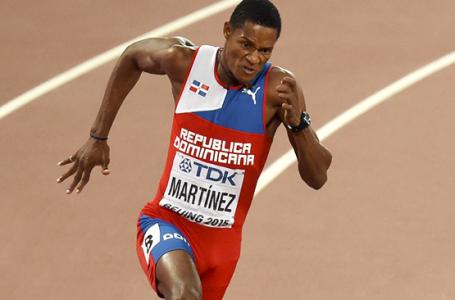 El velocista dominicano Yancarlos Martínez participará Liga Diamante