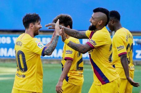 El brillante partido de Messi en el cierre de la Liga de España: dos gritos y un pase-gol para quedar en el umbral de una marca impactante