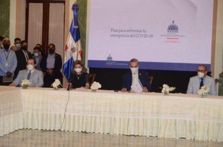 Abinader convoca liderazgo nacional para buscar soluciones a crisis sanitaria